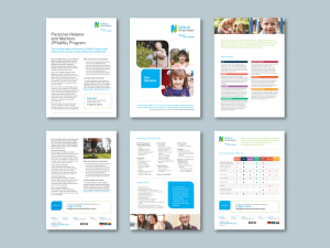 InDesign to Word brochure templates for health services provider​. Client: Nexus Primary Health