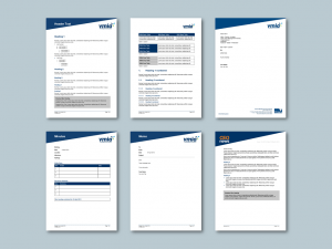 Word report and stationery templates for insurance authority​. Client: Victorian Managed Insurance Authority (VMIA)