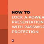 How to lock a PowerPoint presentation with password protection